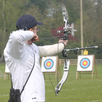 Ben Jones, and active target and field archer.